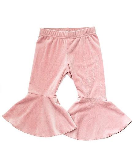 Velour Lollipop Pink Bells