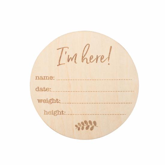 Wooden Milestone Disc