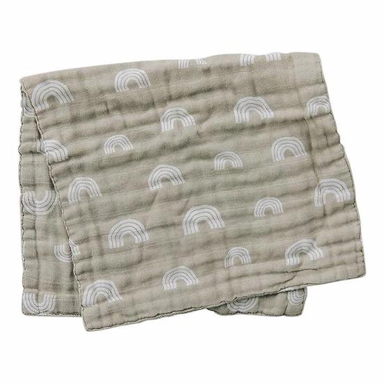 Sand Rainbow Burp Cloth
