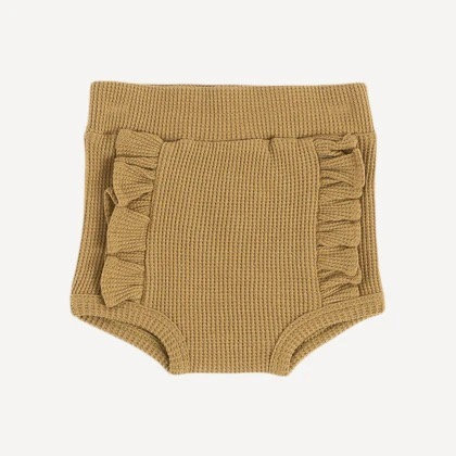 Fennel Seed Ruffle Bloomer- Organic Cotton Thermal