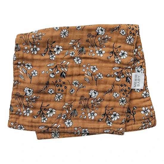 Vintage Floral Burp Cloth