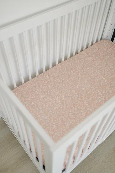Wildflower Crib Sheet