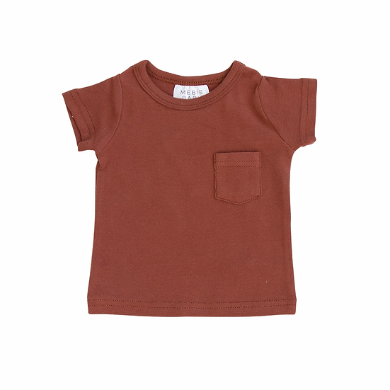 Brick Cotton Pocket Tee