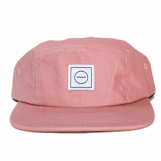 Blush five-panel Hat