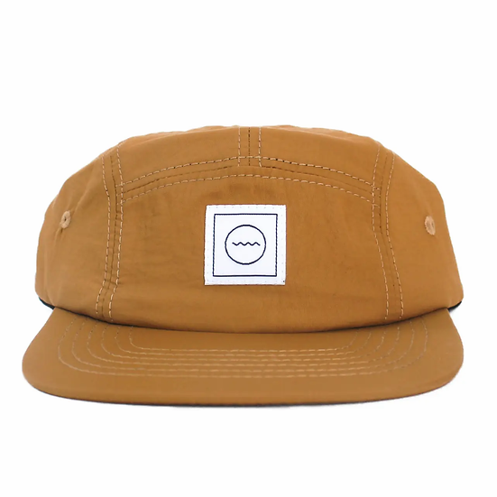Clay five-panel hat