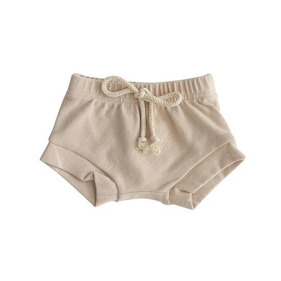 Oat Cotton Shorts
