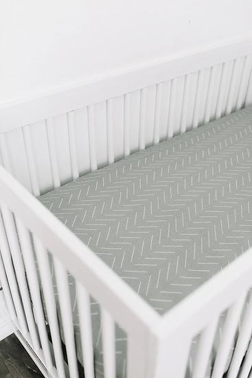 Desert Sage Crib Sheet