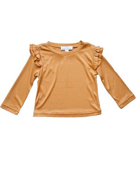 Pumpkin Spice- Embry Long Sleeve Top