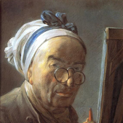 """Jean-Baptiste-Siméon Chardin 8"""""""