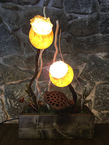 Two Leaf Table Lamp