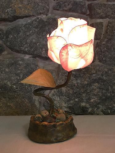 Big Flower Bud Table Lamp