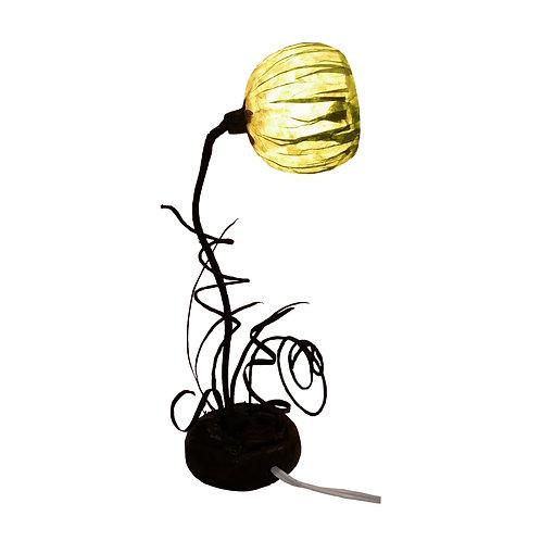 Green Flower Lamp