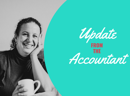 Update from the Accountant