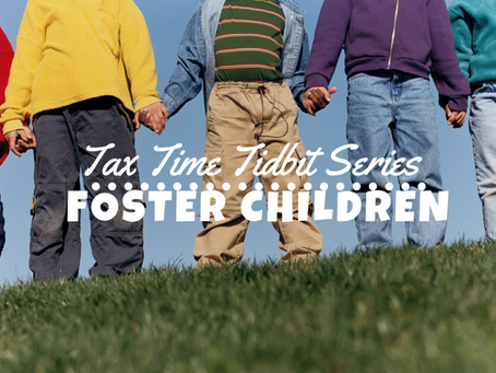 Foster Children & Your Taxes
