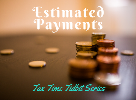 Estimated Payments