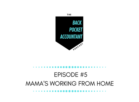 Mama is Working From Home