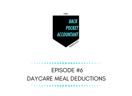 Daycare Meals Deduction