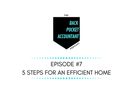 5 Steps for an Efficient Home