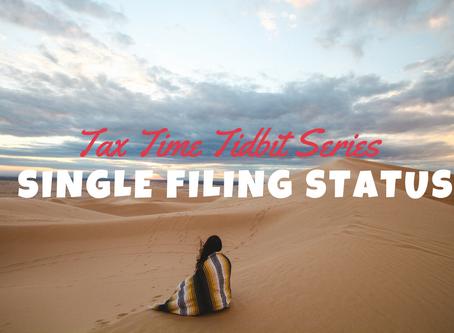 Single Filing Status
