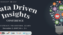 GW DATA Data Driven Insights Conference: Extract, Transform, Learn