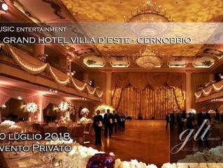 Evento privato al Grand Hotel Villa d'Este a Cernobbio - in orchestra con il Maestro Pinna