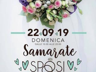 Vi aspettiamo Domenica 22 settembre a Samarate Sposi in Villa Montevecchio di Samarate