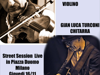 STREET SESSION LIVE - IN PIAZZA DUOMO A MILANO