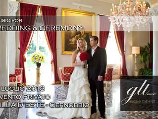 WEDDING MUSIC - Evento Privato al Grand Hotel Villa d'Este - Cernobbio