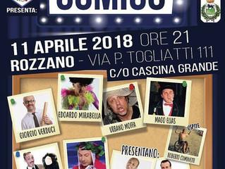 Spettacolo Diversamente Comico a Rozzano il 11 aprile ore 21 con i FATTI COSI' e tanti artisti d