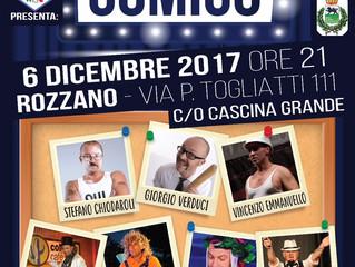 CABARET - DIVERSAMENTE COMICO alla Cascina Grande di Rozzano