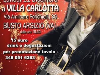 APERICENA LIVE MUSIC a VILLA CARLOTTA - Busto Arsizio