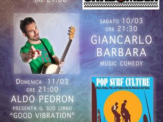 WEEKEND di Musica e Cabaret al TEATRO CAFFE' 2.0 di Samarate