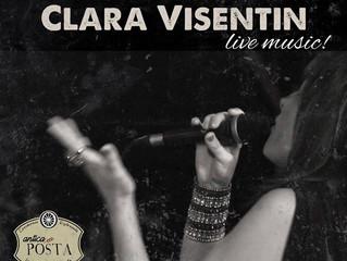 LIVE MUSIC - CLARA VISENTIN ALL'ANTICA POSTA DI CORSICO...