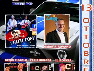 Domenica 13 Ottobre COMICS LAB al BURNOUT di Seveso...
