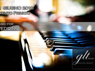 21 Giugno 2018 - Evento Privato - Wedding Music