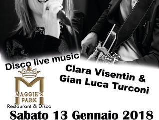 CLARA VISENTIN & G.LUCA TURCONI al MAGGIE'S PARK