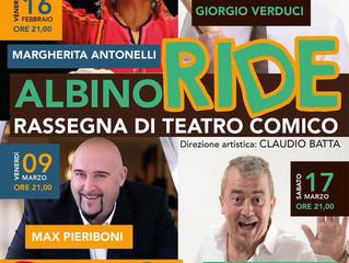 RASSEGNA DI TEATRO COMICO ad ALBINO al Teatro Auditorium