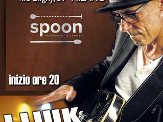 "Venerdì 1 Febbraio allo Spoon Restaurant & Lounge di Milano ""J.LIUK GUITAR LIVE"""