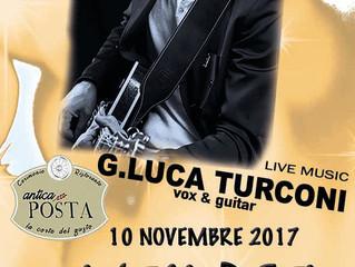 G.LUCA TURCONI Guitar Live Music all'ANTICA POSTA di Corsico