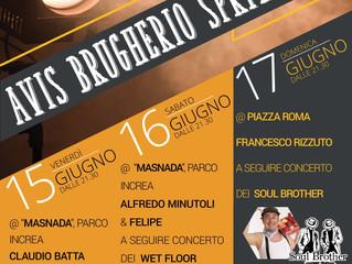 Venerdì 15 Giugno Spettacolo di cabaret con i Fatti Così e Claudio Batta al Parco Increa di Brugheri
