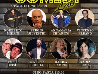 """Giovedì 30 Maggio - COMEDY LAB a """" LA BASE"""" di Vaprio d'Adda con tanti comici...Vi asp"""