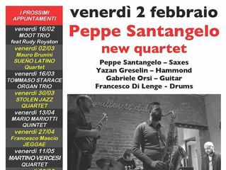 PEPPE SANTANGELO al  67°Jazz Club Varese