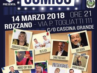 DIVERSAMENTE COMICO - Spettacolo di cabaret a Cascina Grande di Rozzano