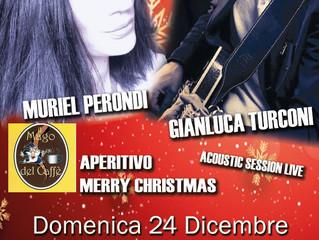 ACOUSTIC LIVE - MURIEL PERONDI e G.LUCA TURCONI al MAGO DEL CAFFE'  SARONNO
