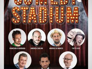 Domenica 18 Novembre inizio ore 21,00 Grande Serata COMEDY STADIUM con tanti comici della Tv, vi asp