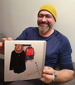 Cartoonist and animator Saad Hajo and his book Take a Hajo