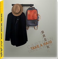 Cover of Hajo's new book Take aHajo Teak a Break