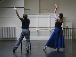 Rehearsing Dying Swan at Paris Opera