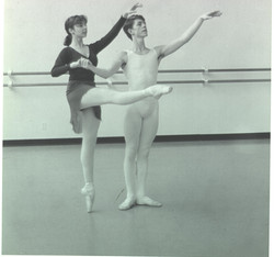 with Meredith 1988