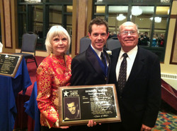 Hall of Fame 2012 with Mom and Dad